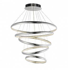 Lampa wisząca Ozias 81906 Endon nowoczesna oprawa w kolorze chromu