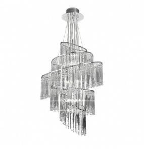 Lampa wisząca Camille CAMILLE-24CH Endon nowoczesna oprawa w kolorze chromu