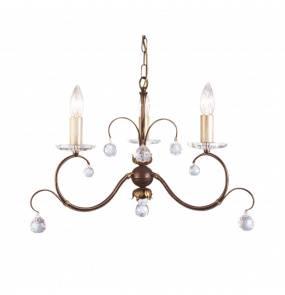 Lampa wisząca Lunetta 3 LUN3 BR Elstead Lighting klasyczna oprawa w dekoracyjnym stylu