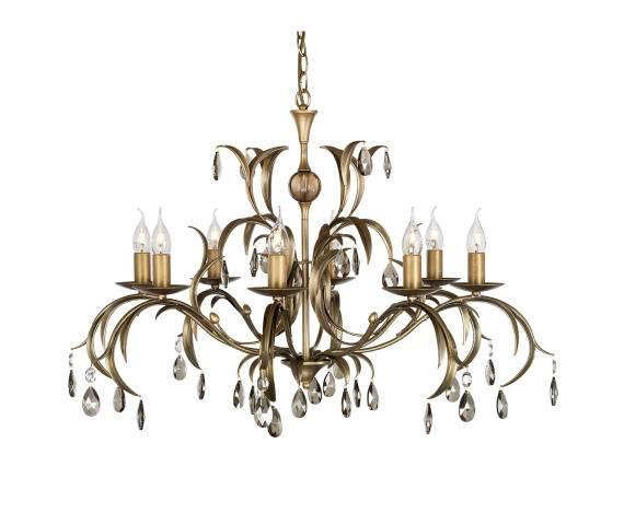 Żyrandol Lily 8 LL8 Elstead Lighting dekoracyjna oprawa w klasycznym stylu