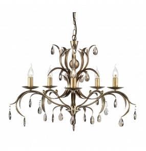 Żyrandol Lily 5 LL5 ANT BRZ Elstead Lighting dekoracyjna oprawa w klasycznym stylu