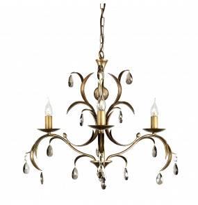 Lampa wisząca Lily 3 LL3 ANT BRZ Elstead Lighting dekoracyjna oprawa w klasycznym stylu