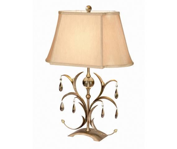 Lampa stołowa Lily LL/TL ANT BRZ Elstead Lighting dekoracyjna oprawa stołowa w klasycznym stylu