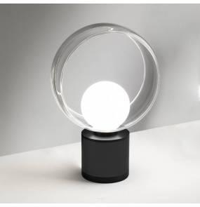 Lampa stołowa Cosmit 0082.40.NE VIVIDA International minimalistyczna lampa stołowa czarna LED mała
