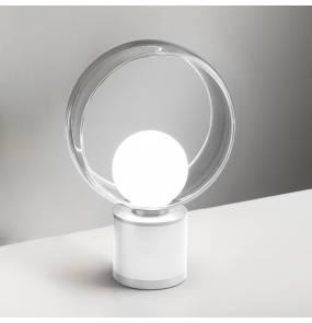 Lampa stołowa Cosmit 0082.41.BI VIVIDA International minimalistyczna lampa stołowa biała LED duża