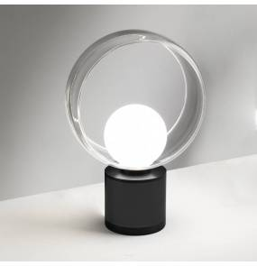Lampa stołowa Cosmit 0082.41.NE VIVIDA International minimalistyczna lampa stołowa czarna LED duża