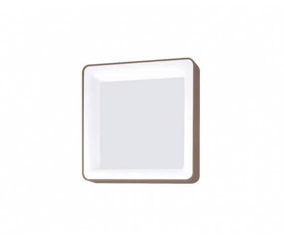 Kinkiet/Plafon Inner S 0044.21.SA VIVIDA International nowoczesny kinkiet/plafon w kolorze piaskowym  LED średni 60 X 60 cm