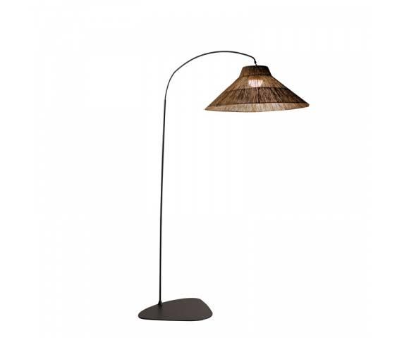 Lampa stojąca ogrodowa NIZA 230 New Garden nowoczesna lampa ratanowa stojąca