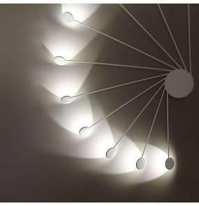 Kinkiet/Plafon Helix 0047.10.BI VIVIDA International niezwykły kinkiet/plafon w kolorze białym| LED