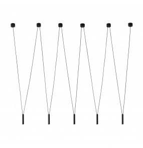 Lampa wisząca Viva V Nero Orlicki Design nowoczesna lampa wisząca w kolorze czarnym