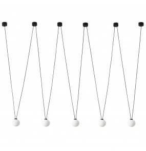 Lampa wisząca Movo V Orlicki Design oryginalna lampa wisząca w kolorze czarnym