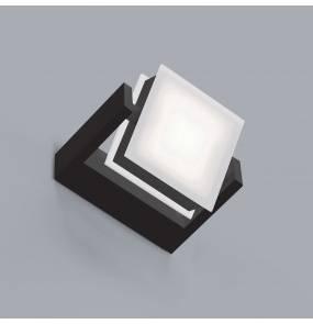 Kinkiet Axella 0039.10.NE W VIVIDA International minimalistyczny kinkiet w kolorze czarnym | LED | ciepła barwa | mały