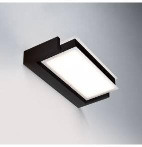 Kinkiet Axella 0039.11.NE W VIVIDA International minimalistyczny kinkiet w kolorze czarnym | LED | ciepła barwa | duży