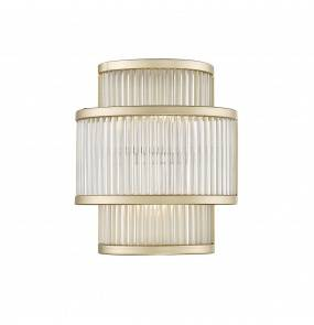 Kinkiet SERGIO W0528-02B-V6AC G9 Zuma Line LED złoty szkło