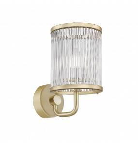 Kinkiet SERGIO W0528-02B-V6AC E14 Zuma Line LED złoty szkło