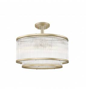 Lampa sufitowa SERGIO C0528-05H-V6AC E14 Zuma Line LED złota szkło