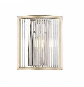 Kinkiet SERGIO W0528-01A-V6AC E14 Zuma Line LED złoty szkło