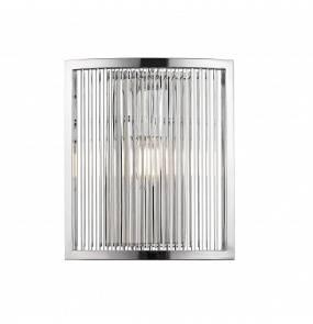 Kinkiet SERGIO W0528-01A-B5AC E14 Zuma Line LED srebrny chrom szkło