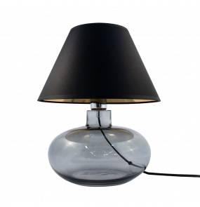 Lampa stołowa MERSIN GRAFIT 5517BKGO E27 Zuma Line szkło dekoracyjna