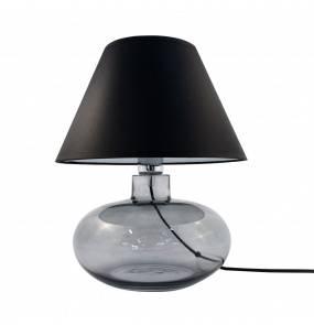 Lampa stołowa MERSIN GRAFIT 5516BK E27 Zuma Line szkło dekoracyjna