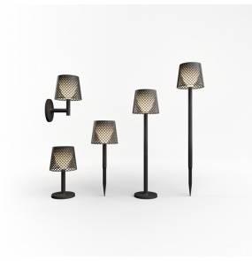 Lampa 5W1 GRETA BLACK New Garden nowoczesna lampa ogrodowa