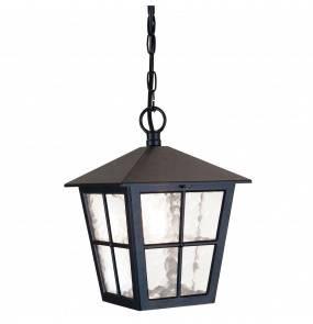 Lampa wisząca zewnętrzna Canterbury BL48M Elstead Lighting czarna oprawa zewnętrzna w klasycznym stylu