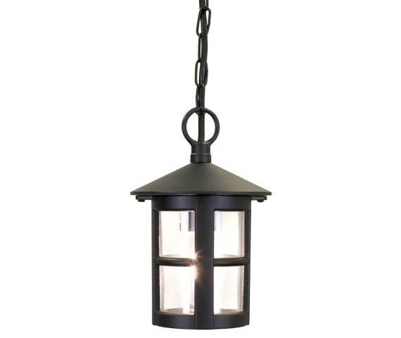 Lampa wisząca zewnętrzna Hereford BL21B Elstead Lighting klasyczna oprawa w kolorze czarnym