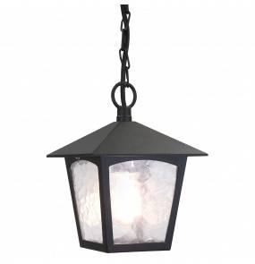 Lampa wisząca zewnętrzna York BL6B Elstead Lighting klasyczna oprawa wiszące w kolorze czarnym