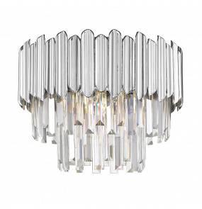Lampa sufitowa GLADIUS C0535-05B-F4AC Zuma Line dekoracyjna oprawa w kolorze srebrnym