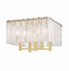 Lampa sufitowa PALACE C0523-04A-U8AC Zuma Line dekoracyjna oprawa w kolorze złotym