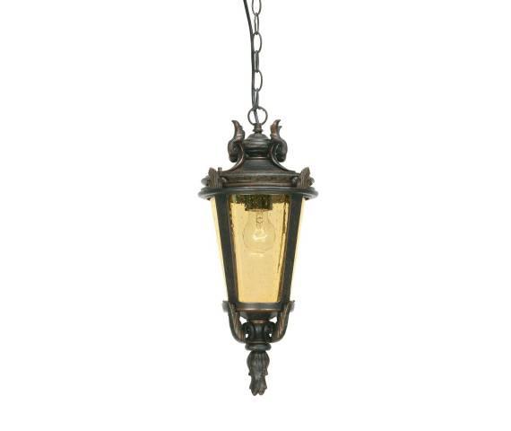 Lampa zewnętrzna wisząca Baltimore BT8/M Elstead Lighting klasyczna oprawa w dekoracyjnym stylu