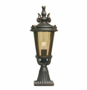 Lampa zewnętrzna stojąca Baltimore BT3/M Elstead Lighting klasyczna oprawa w dekoracyjnym stylu