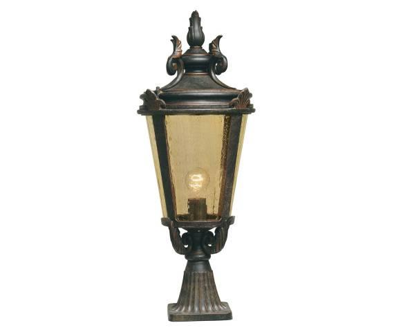 Lampa zewnętrzna stojąca Baltimore BT3/L Elstead Lighting klasyczna oprawa w dekoracyjnym stylu
