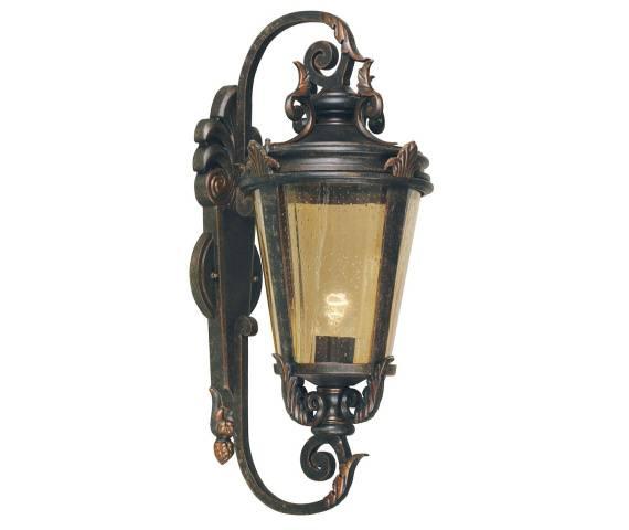 Kinkiet zewnętrzny Baltimore BT1/L Elstead Lighting klasyczna oprawa w dekoracyjnym stylu