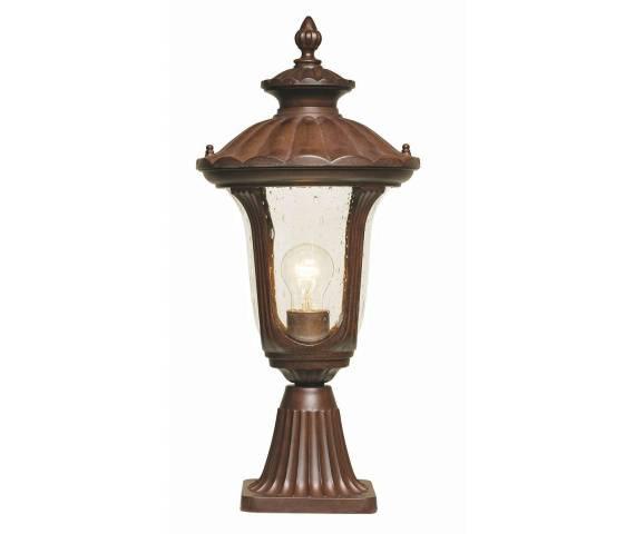 Lampa zewnętrzna Chicago CC3/S Elstead Lighting dekoracyjna oprawa stojąca w klasycznym stylu