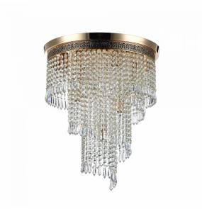Lampa sufitowa Cascade DIA522-CL-07-G Maytoni dekoracyjna oprawa w kolorze złota