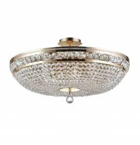 Lampa sufitowa Ottilia DIA700-CL-12-G Maytoni dekoracyjna oprawa w kolorze złotym