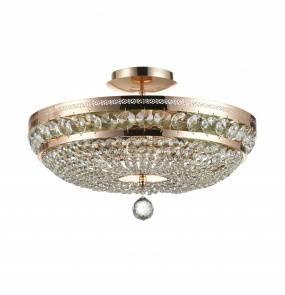 Lampa sufitowa Ottilia DIA700-CL-06-G Maytoni dekoracyjna oprawa w kolorze złotym