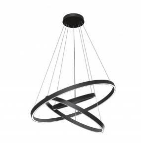 Lampa wisząca Rim MOD058PL-L100B4K LED Maytoni dekoracyjna oprawa w kolorze czarnym