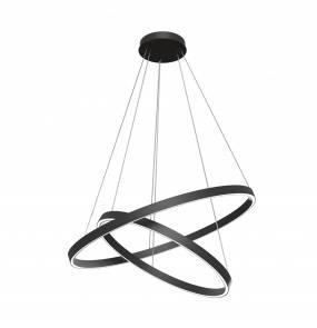 Lampa wisząca Rim MOD058PL-L74B4K LED Maytoni dekoracyjna oprawa w kolorze czarnym
