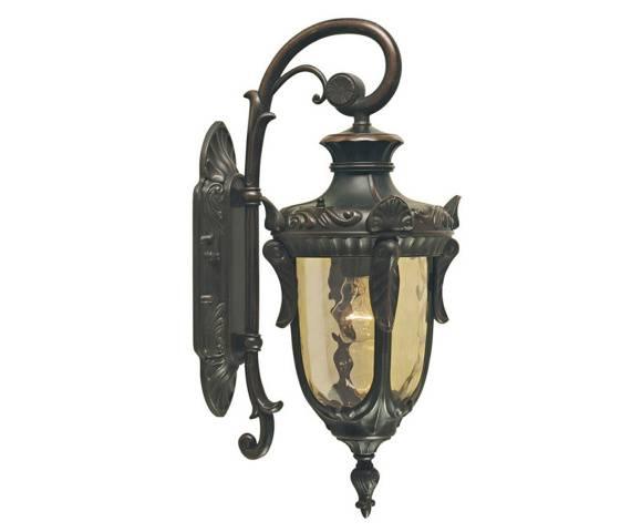 Kinkiet zewnętrzny Philadelphia PH2/S OB Elstead Lighting klasyczna oprawa w kolorze antycznego brązu