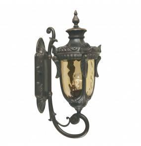 Kinkiet zewnętrzny Philadelphia PH1/M OB Elstead Lighting klasyczna oprawa w kolorze antycznego brązu