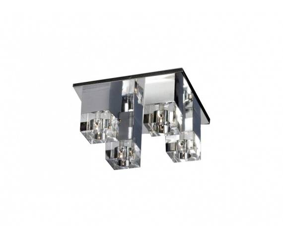 Plafon Box 4 AZ0178 AZzardo dekoracyjna oprawa w nowoczesnym stylu
