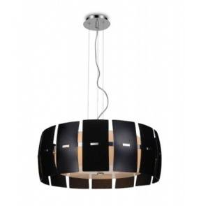 ŻARÓWKI LED GRATIS! Lampa wisząca Taurus 2 MD2050S-4BL AZzardo dekoracyjna oprawa w kolorze czarnym