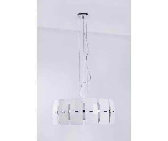 ŻARÓWKI LED GRATIS! Lampa wisząca Taurus 2 MD2050S-4W AZzardo dekoracyjna oprawa w kolorze białym