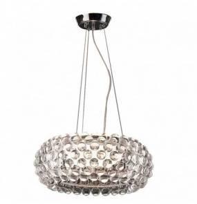 Lampa wisząca Acrylio 40 AZ0057 AZzardo dekoracyjna oprawa w nowoczesnym stylu