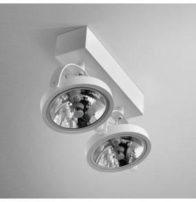 Reflektor CERES 111x2 R oprawa natynkowa 15112-0000-T8-PH AQform podwójna oprawa w nowoczesnym stylu