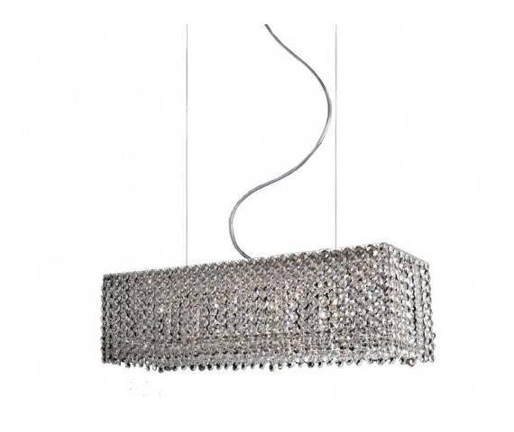 Lampa wisząca Roma AZ1510 AZzardo kryształowa oprawa w nowoczesnym stylu