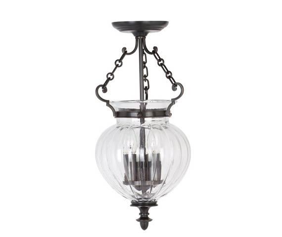 Lampa wisząca Finsbury Park FP/P/S OB Elstead Lighting klasyczna oprawa w kolorze antycznego brązu