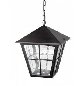 Lampa wisząca zewnętrzna Edinburgh BL38 Elstead Lighting klasyczna oprawa zewnętrzna w kolorze czarnym
